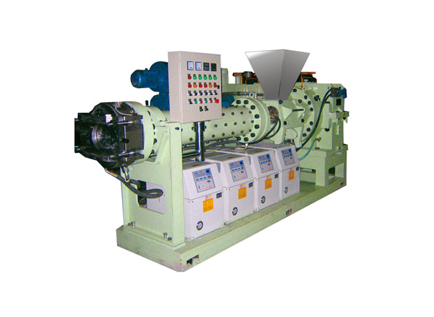 Cold-feed extruder series