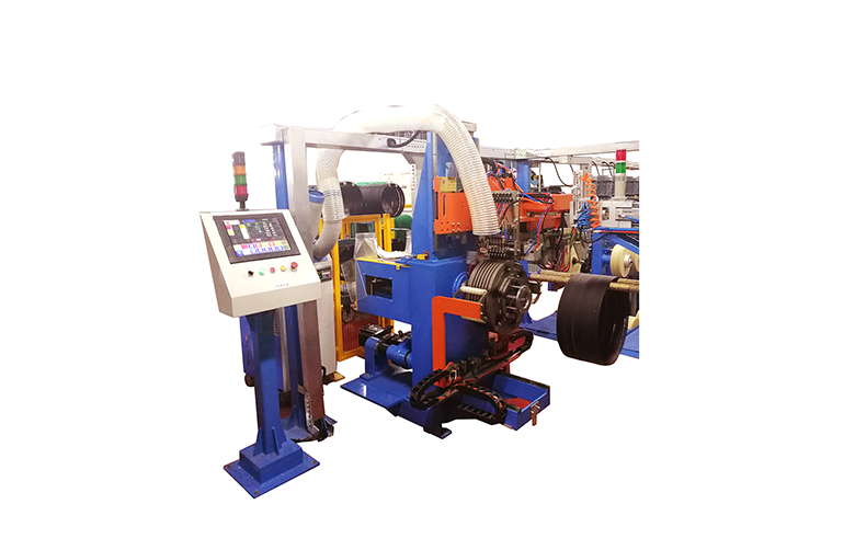 Tire bead winding system